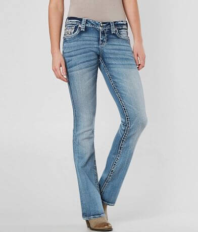 0380be116ac Rock Revival Leni Easy Boot Stretch Jean