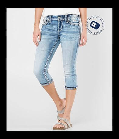 Rock Revival Yara Easy Stretch Cropped Jean