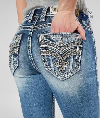 Rock Revival Yanka Easy Stretch Cropped Jean