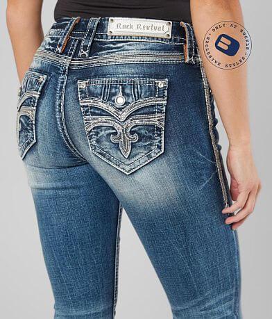 Rock Revival Aliana Easy Mid-Rise Boot Jean