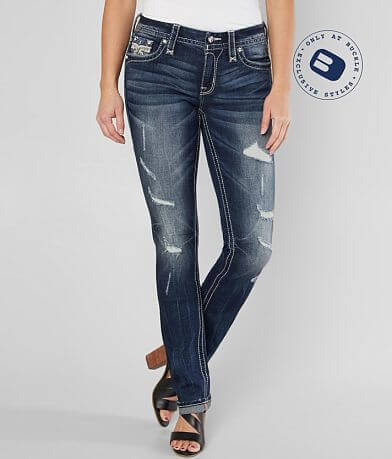 Rock Revival Leni Easy Straight Stretch Jean