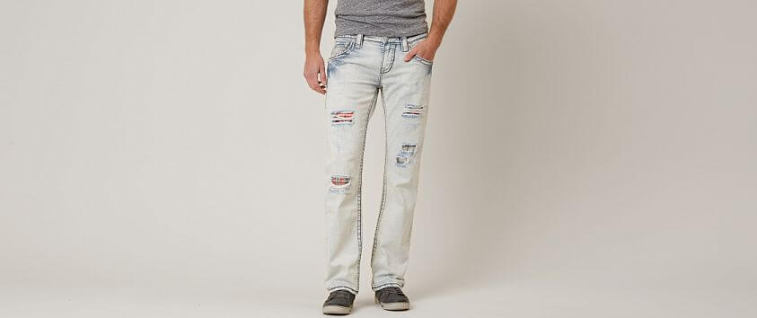 Rock Revival Suhul Slim Straight Stretch Jean front view