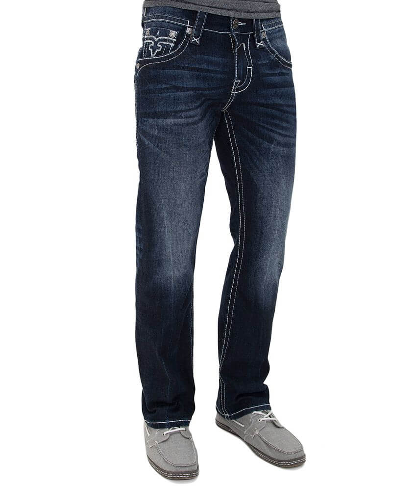 Rock Revival Ryker Straight Jean front view