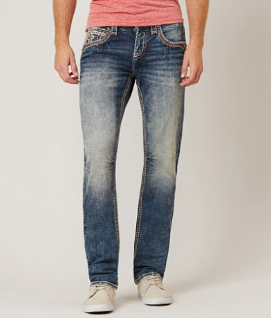 Rock Revival Greg Straight Stretch Jean