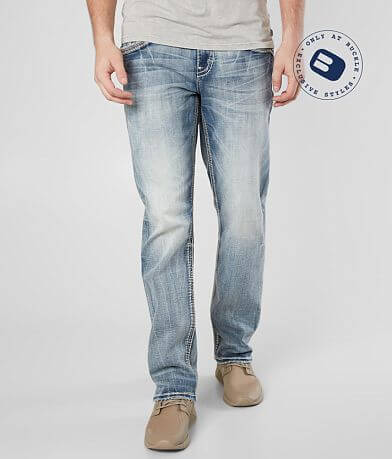 Rock Revival Bridge Straight Stretch Jean