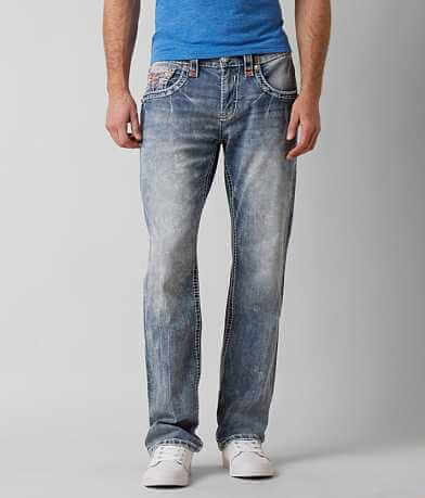 Rock Revival Garvey Straight Stretch Jean