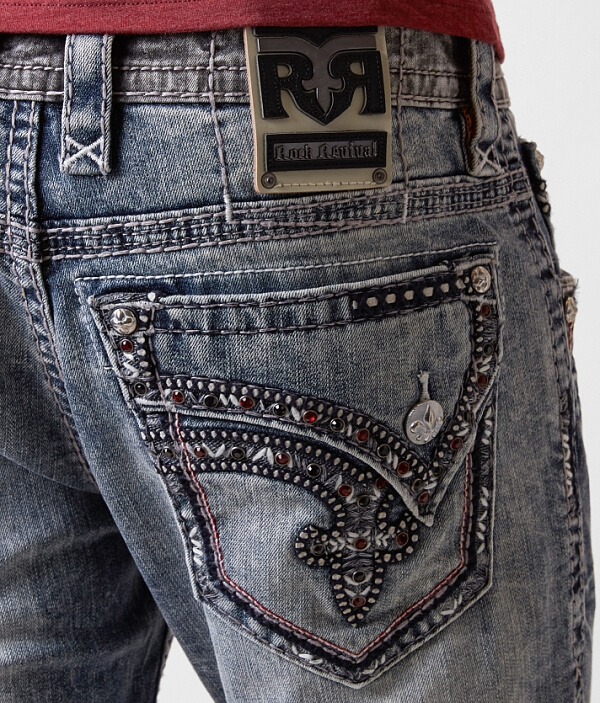Stretch Jean Revival Young Straight Rock Cw6BfqT