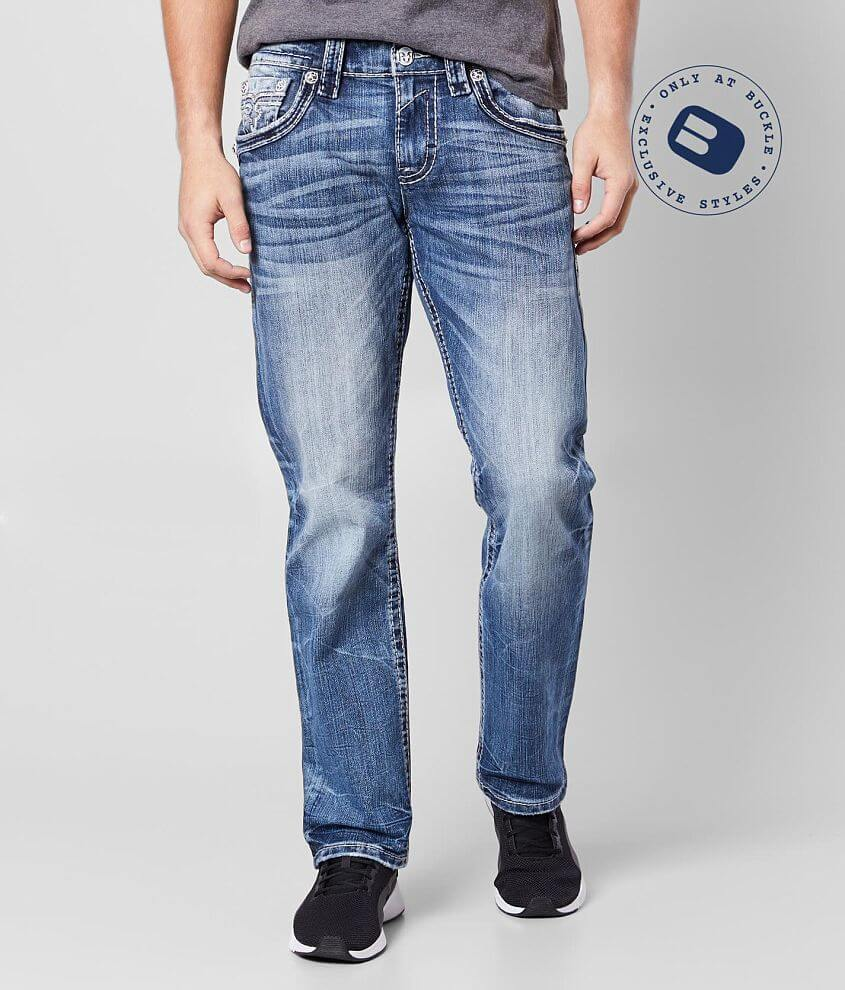 Rock Revival Cace Relaxed Taper Stretch Jean front view