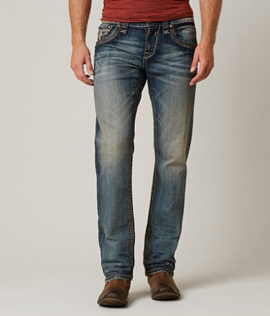 Rock Revival Cace Straight Stretch Jean