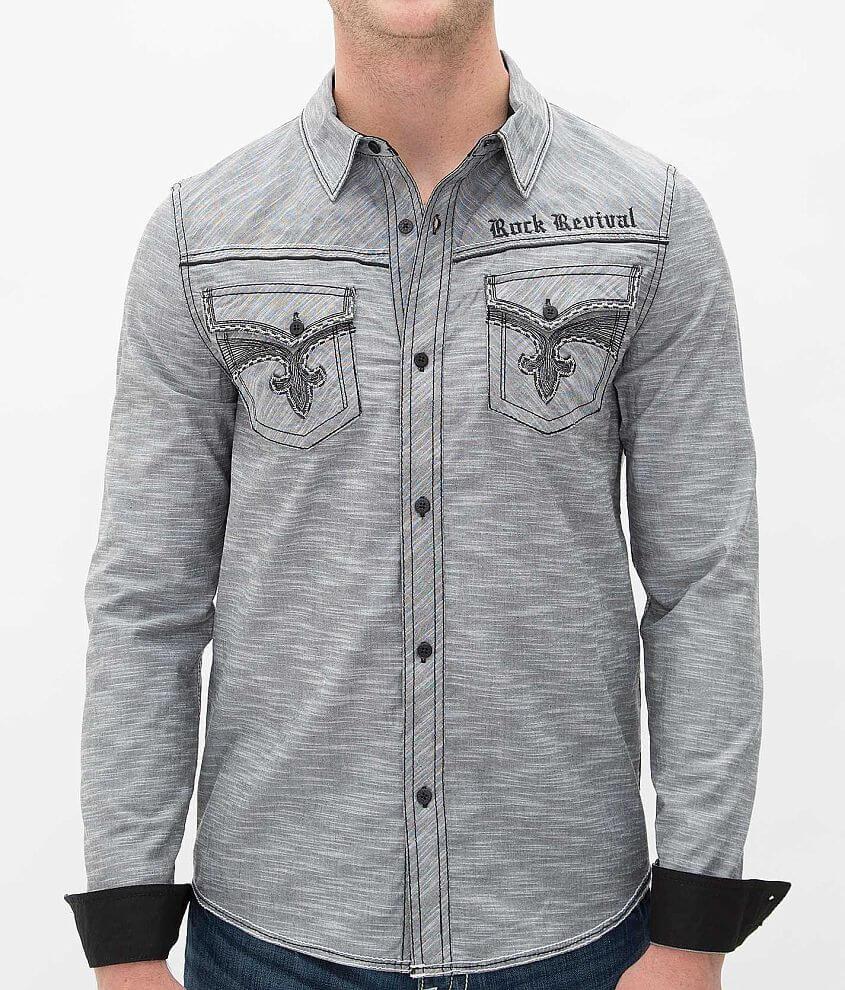 Rock Revival Stewart Shirt front view