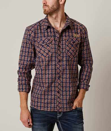 Rock Revival Patterned Stretch Shirt