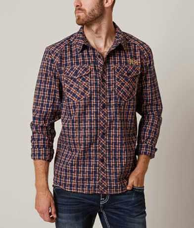 Rock Revival Patterned Stretch Shirt