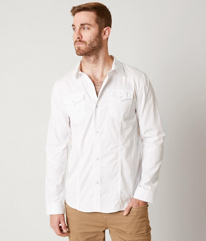 Rock Revival Crisp Shirt - Men's Shirts in White | Buckle