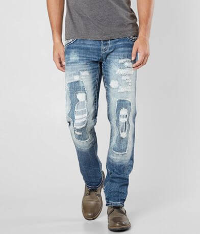 Rock Revival Kort Straight Stretch Jean