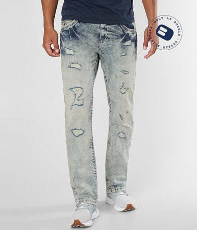 Rock Revival Kastro Straight Stretch Jean