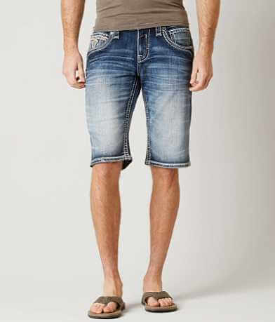 Rock Revival Donato Stretch Short