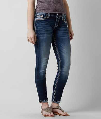 Rock Revival Vein Easy Ankle Skinny Jean