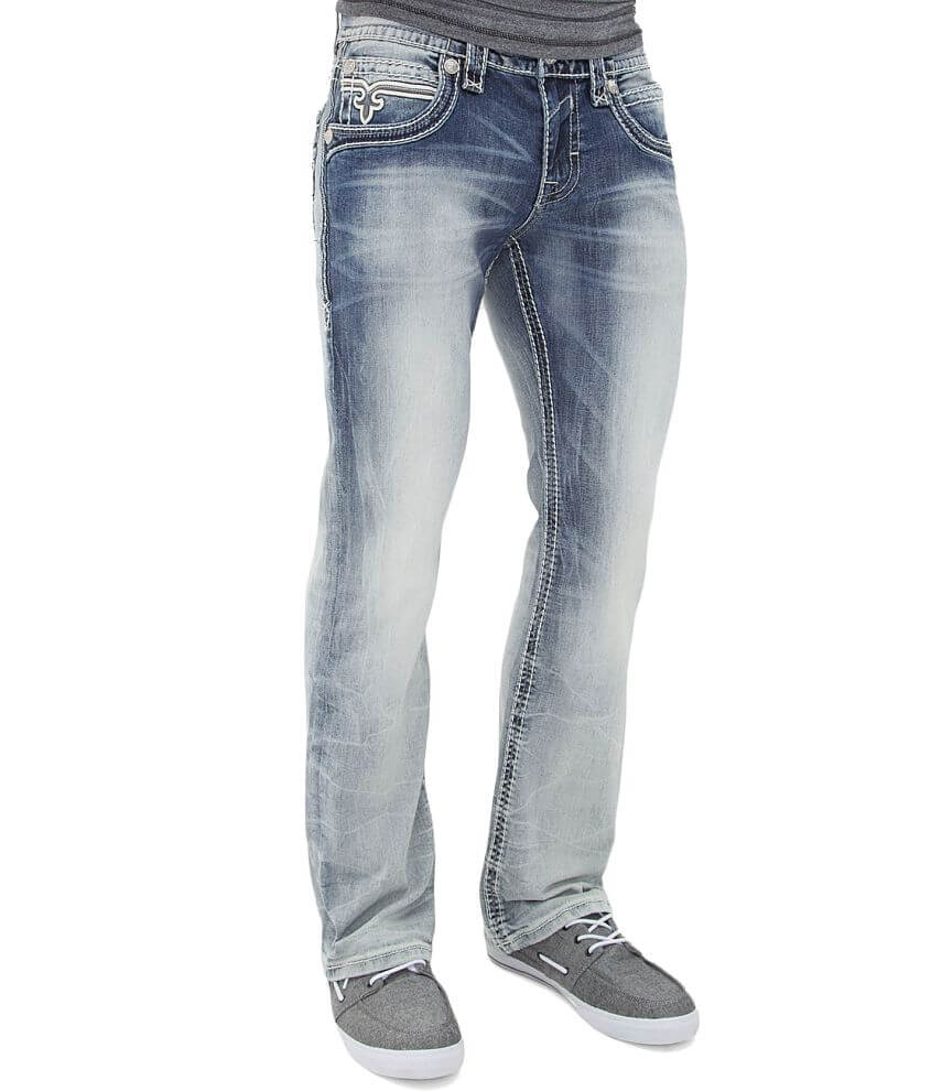 Rock Revival Jarvis Slim Boot Jean front view
