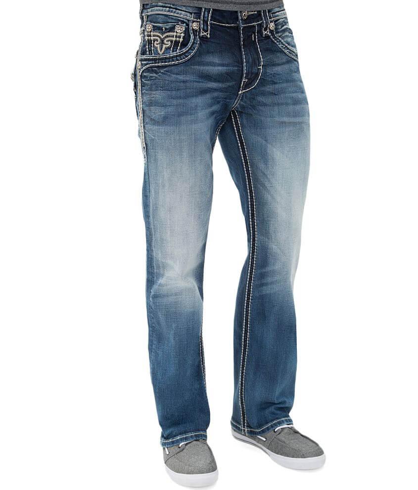 ed5990a4e7fe Rock Revival Mannix Boot Stretch Jean - Men's Clothing in Mannix B ...