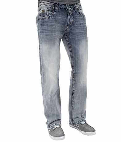 Rock Revival Rigny Relaxed Straight Stretch Jean