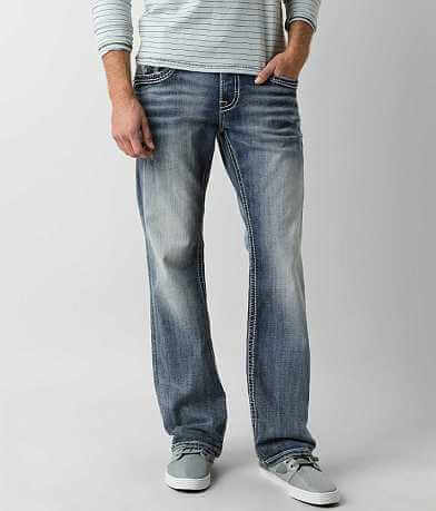 Rock Revival Leotis Relaxed Straight Stretch Jean