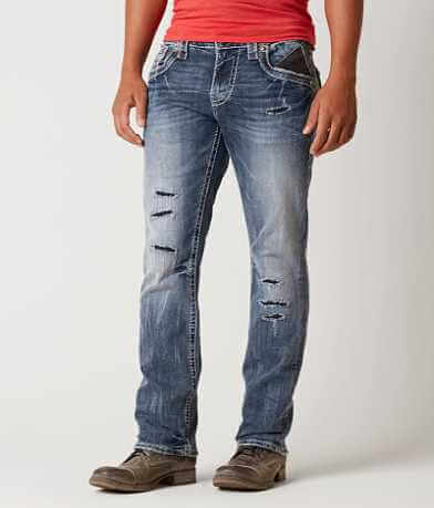 Rock Revival Pruitt Relaxed Straight Stretch Jean