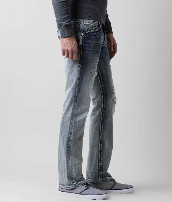 Jean Revival Rock Straight Slim Stretch Pruitt XqwUC