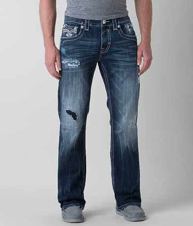 Rock Revival Ledford Relaxed Straight Stretch Jean