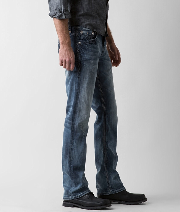 Straight Dilly Slim Rock Jean Stretch Revival wSxxC1qn