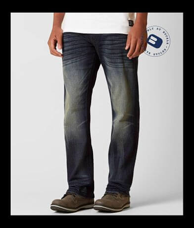 Rock Revival Lowry Relaxed Straight Stretch Jean