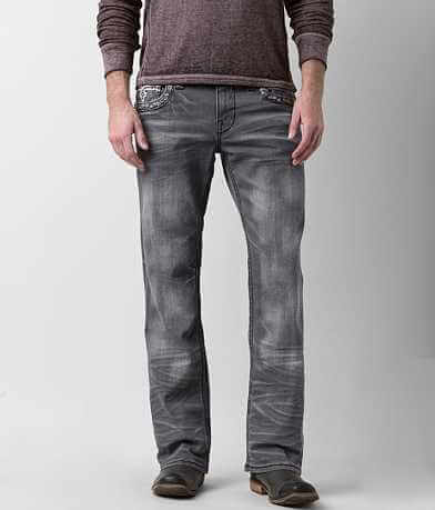 Rock Revival Klevin Relaxed Straight Stretch Jean
