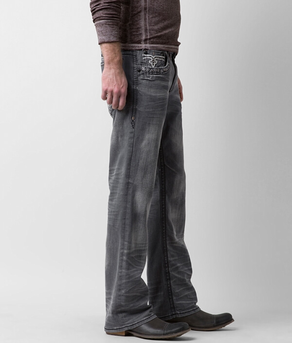 Relaxed Straight Rock Revival Jean Stretch Klevin wa66UqEP