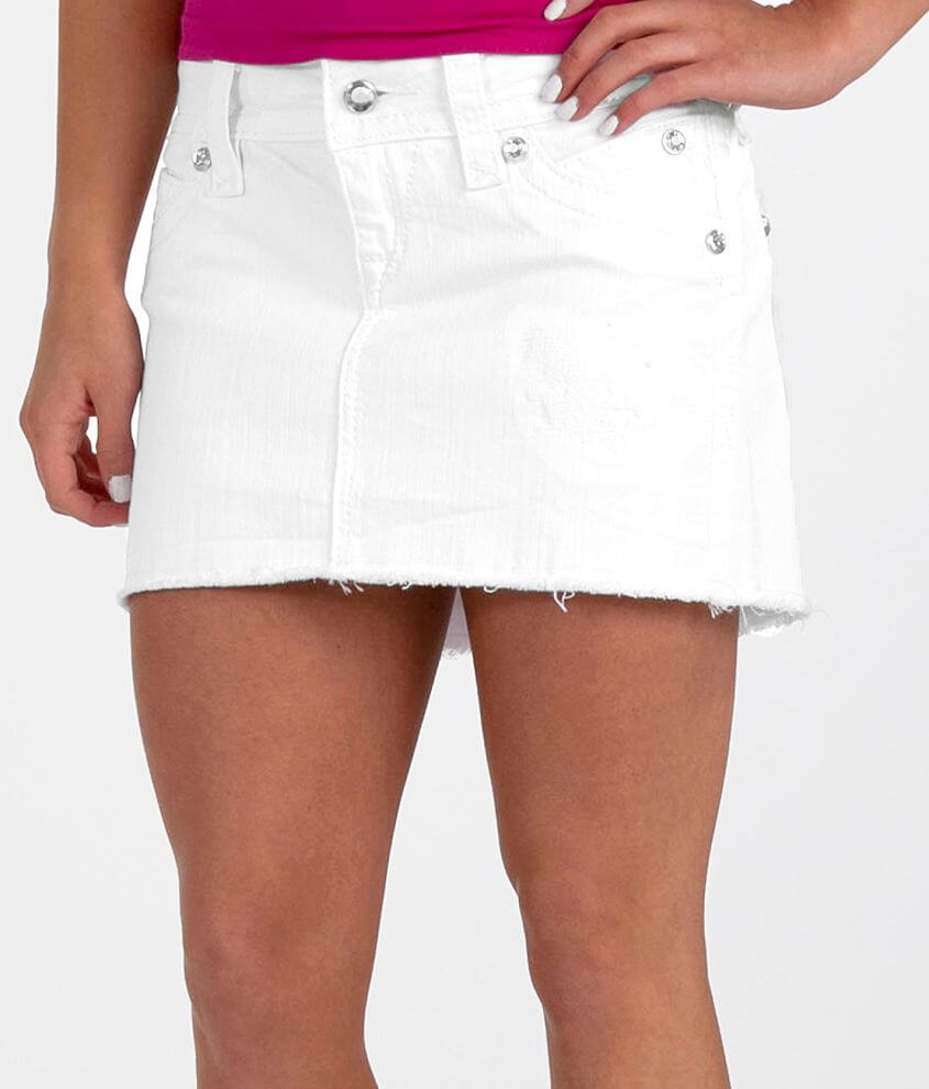 Rock Revival Amy Stretch Mini Skirt front view