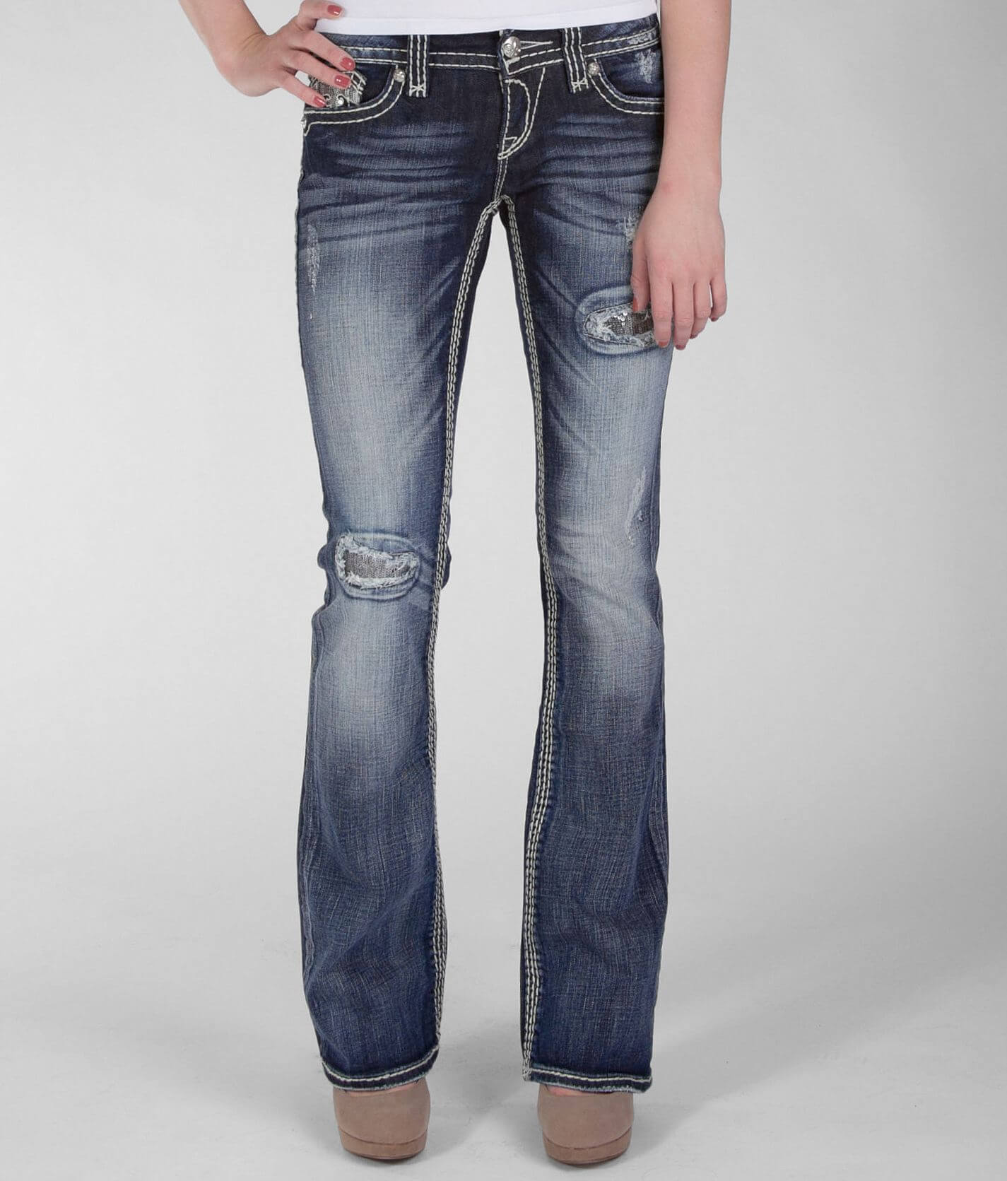 Rock Revival Alanis Boot Stretch Jean Women S Jeans In Alanis B15