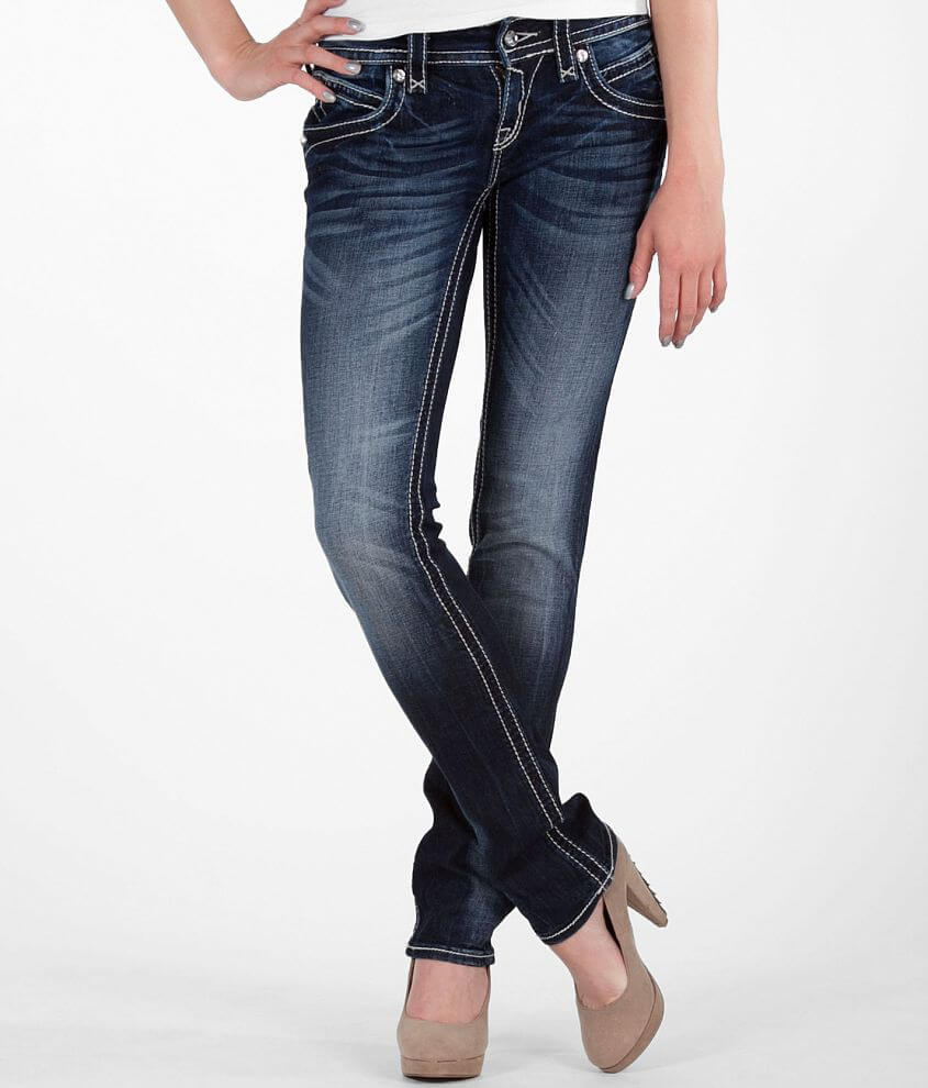 Rock Revival Scarlett Straight Stretch Jean front view