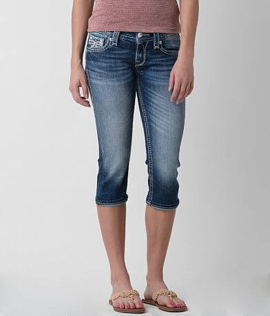 Rock Revival Julie Stretch Cropped Jean