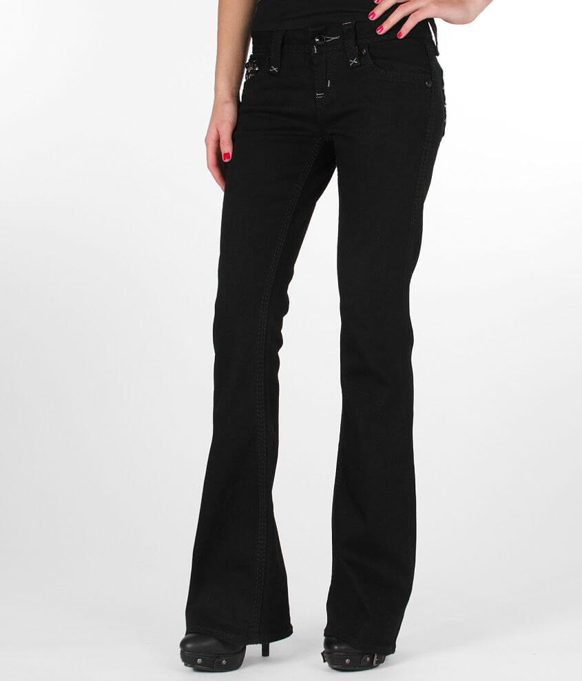 Rock Revival Polly Flare Stretch Jean front view
