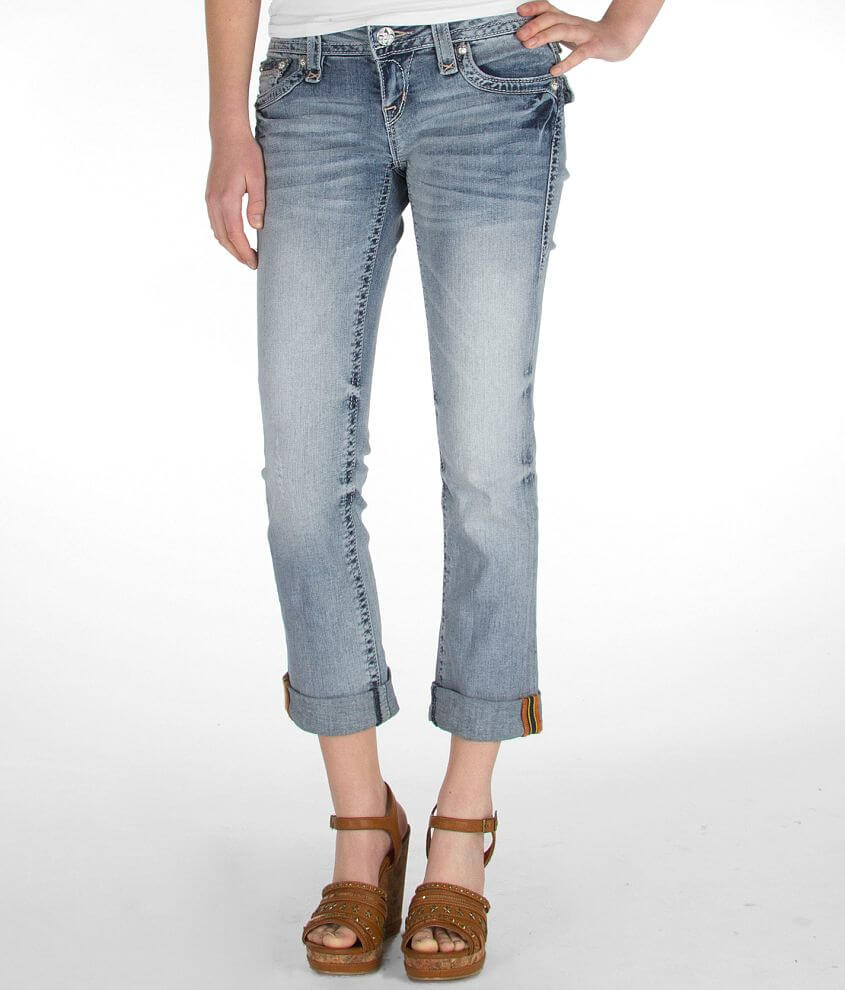 Rock Revival Essie Stretch Cropped Jean front view