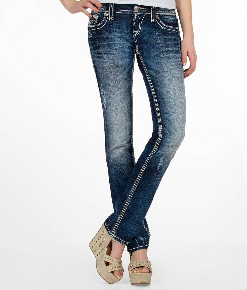 Rock Revival Ali Straight Stretch Jean front view