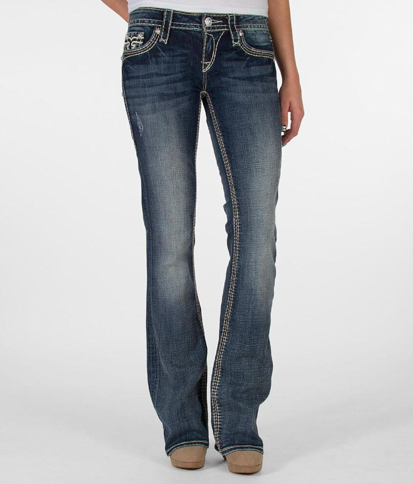 Rock Revival Jamila Boot Stretch Jean front view