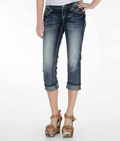 Rock Revival Lynkai Easy Stretch Cropped Jean