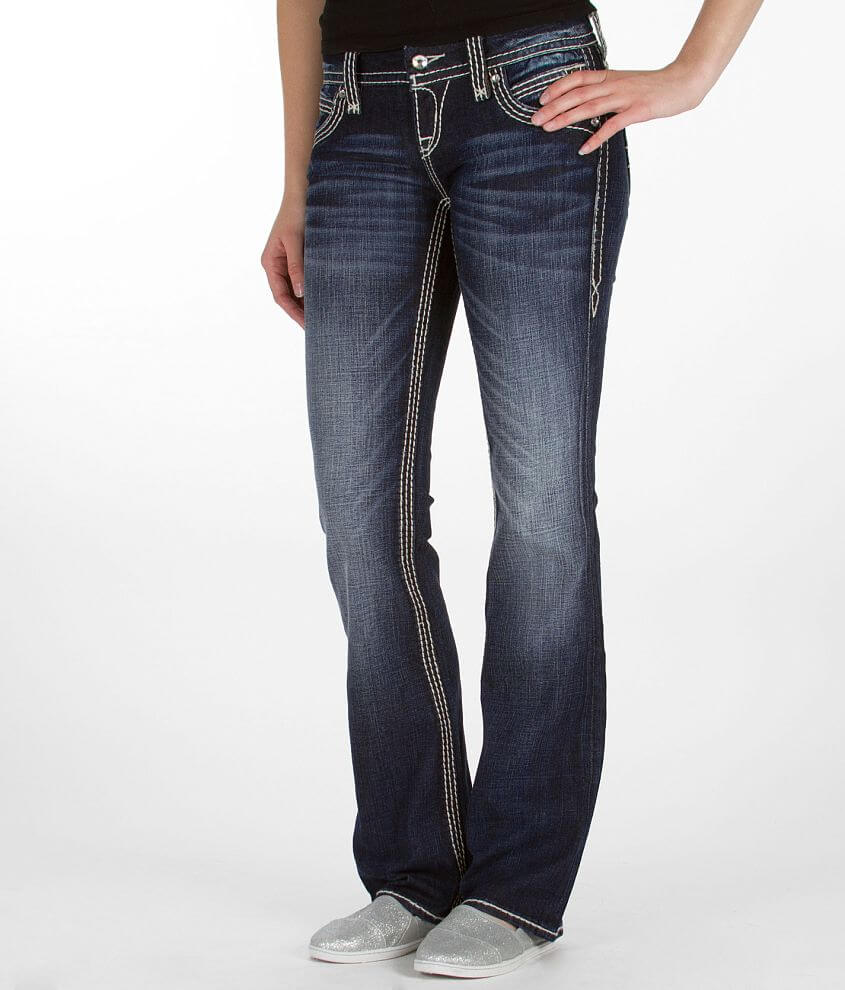 Rock Revival Liz Easy Boot Stretch Jean front view