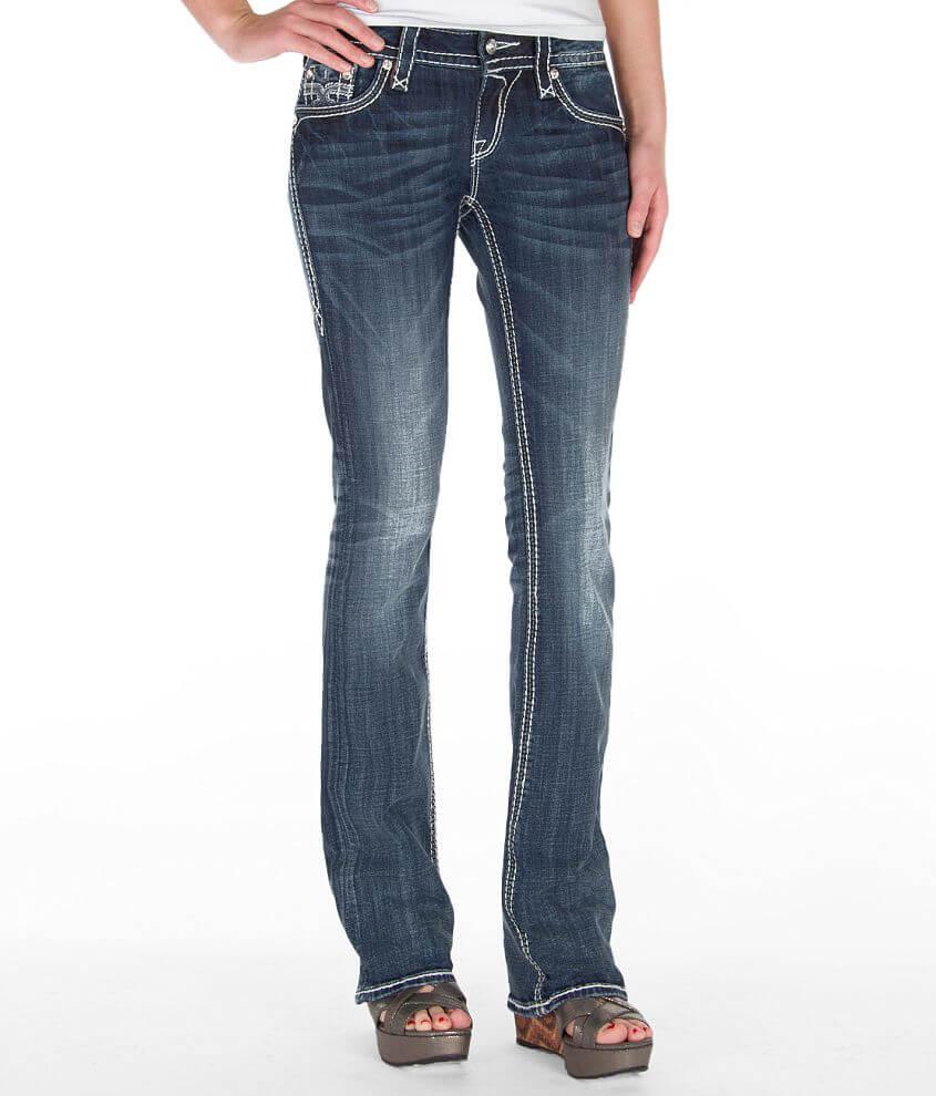 Rock Revival Simona Slim Boot Stretch Jean front view