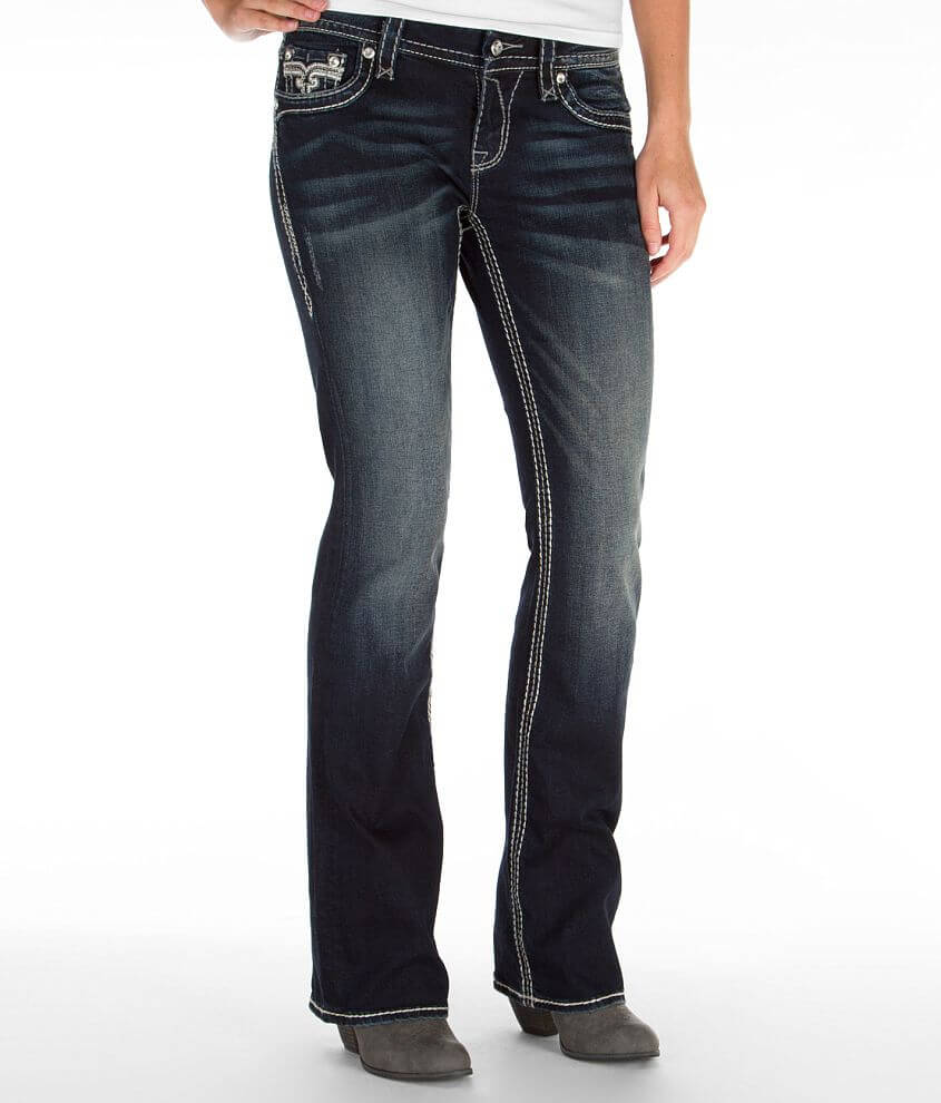 Rock Revival Marie Easy Boot Stretch Jean front view