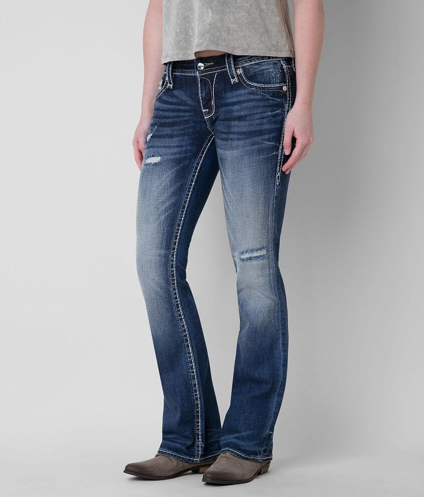 Rock Revival Fay Easy Boot Stretch Jean front view