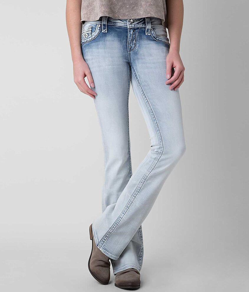 c64e50738b7 Rock Revival Raven Boot Stretch Jean - Women s Jeans in Raven B3 ...
