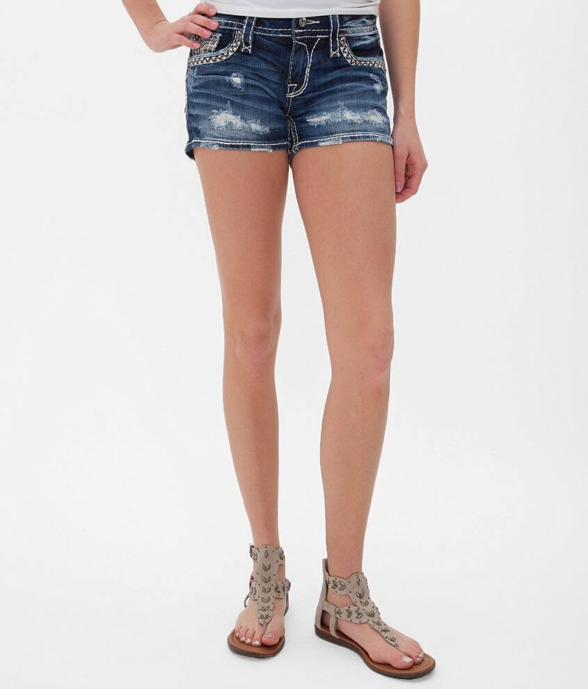Rock Revival Claudia Stretch Short front view