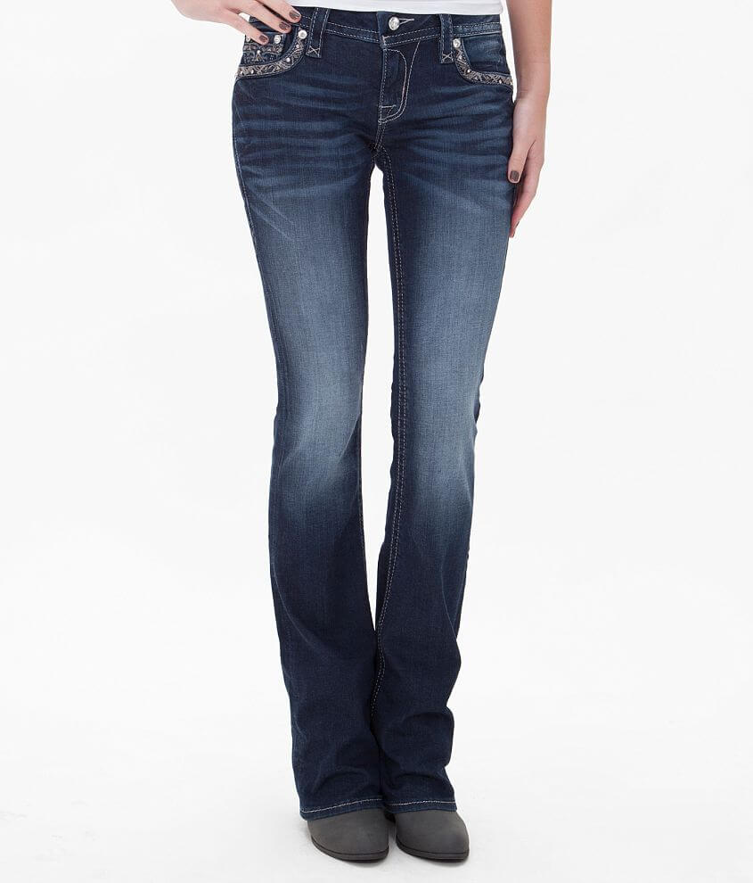 Rock Revival Jazlyn Boot Stretch Jean front view