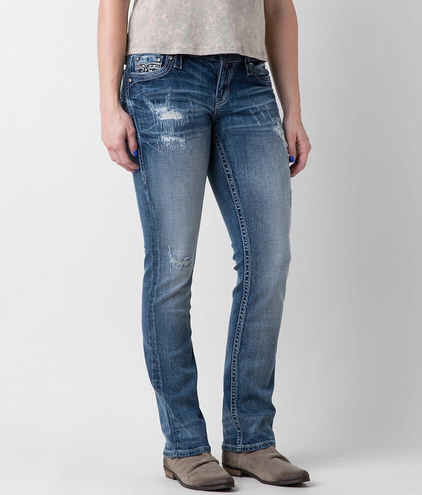 Rock Revival Adaliz Easy Straight Stretch Jean front view