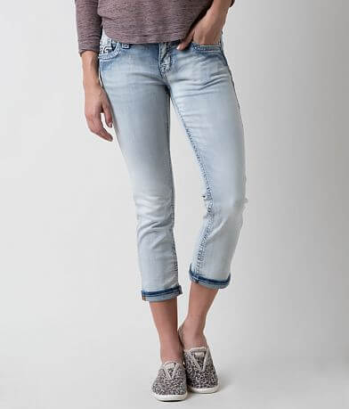 Rock Revival Nancy Stretch Cropped Jean